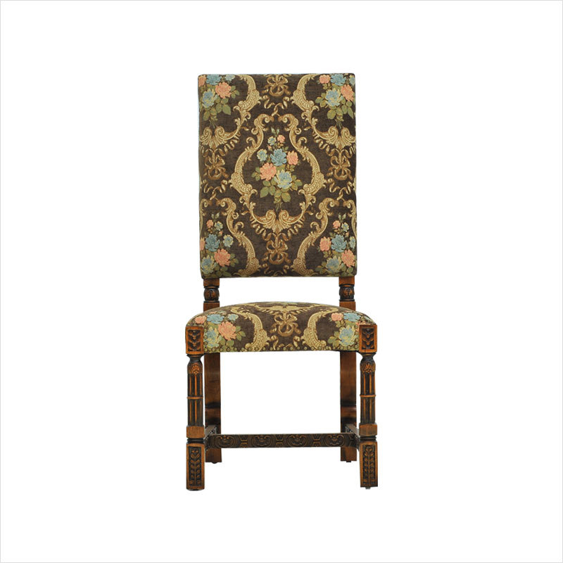 Vintage Brown Flower Thick Polyester Viscose Soft Chenille Sofa - Արվեստ, արհեստ և կարի - Լուսանկար 4