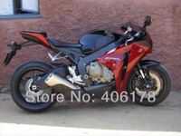 Hot Sales,08 09 10 11 CBR For Honda CBR1000RR Fireblade 2008 2011 Dark Red Motorcycle Fairing 1000rr cbr (Injection molding)