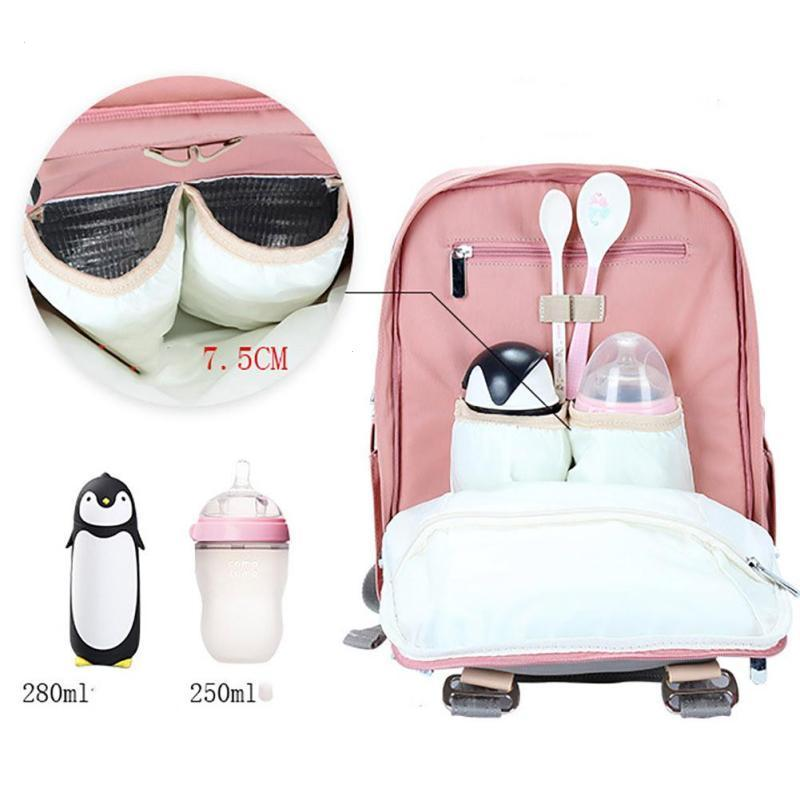 Diaper backpack Nappy bag Multi-function mummy bag large capacity waterproof backpack mother pregnant change bags Travel Pad XV3