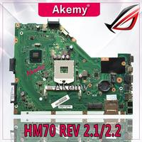 Akemy X55A Laptop motherboard for ASUS X55A NoteBook Computer Test original motherboard HM70 REV 2.1/2.2