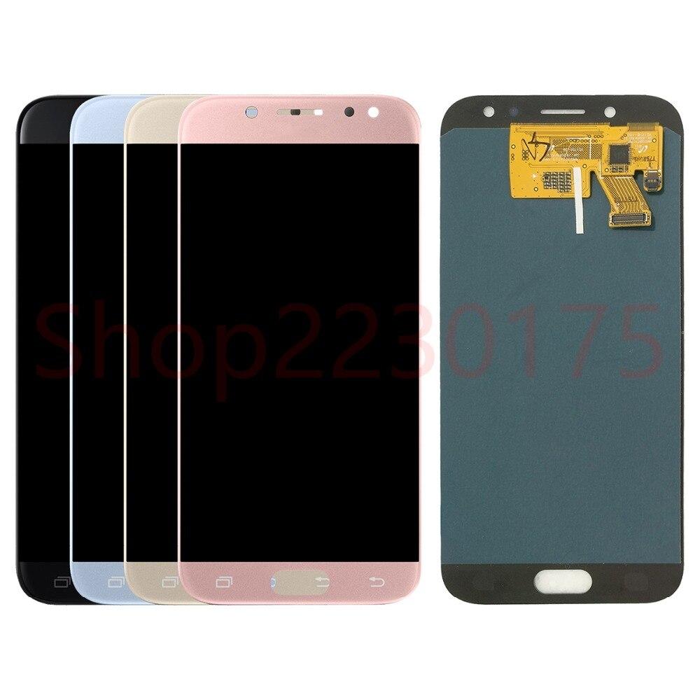 Pour Samsung Galaxy J5 2017 J530 J530F J530FN SM-J530F AMOLED LCD écran tactile numériseur assemblée pièces de rechange