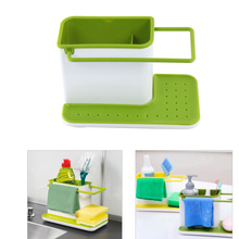 Multifunctional Glove Storage Dishclout Rag Debris Rack Storage Holder Kitchen Stands Utensils K201
