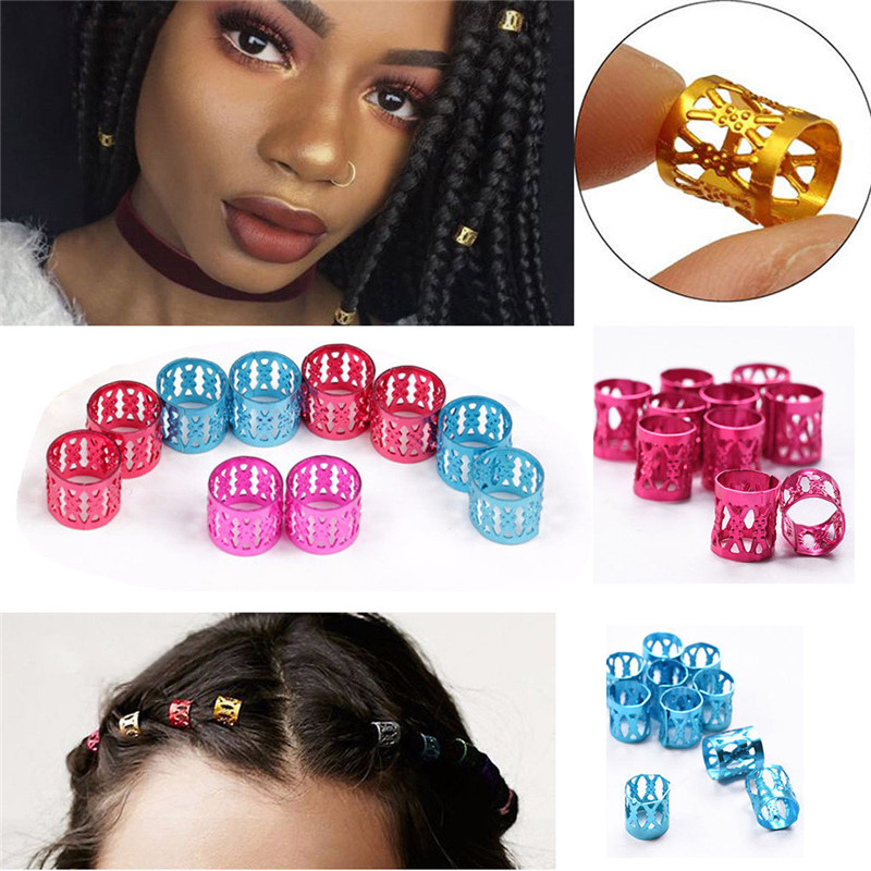 HAICAR 30Pcs 8MM Dreadlock Beads Adjustable Hair Braid P# dropshipping