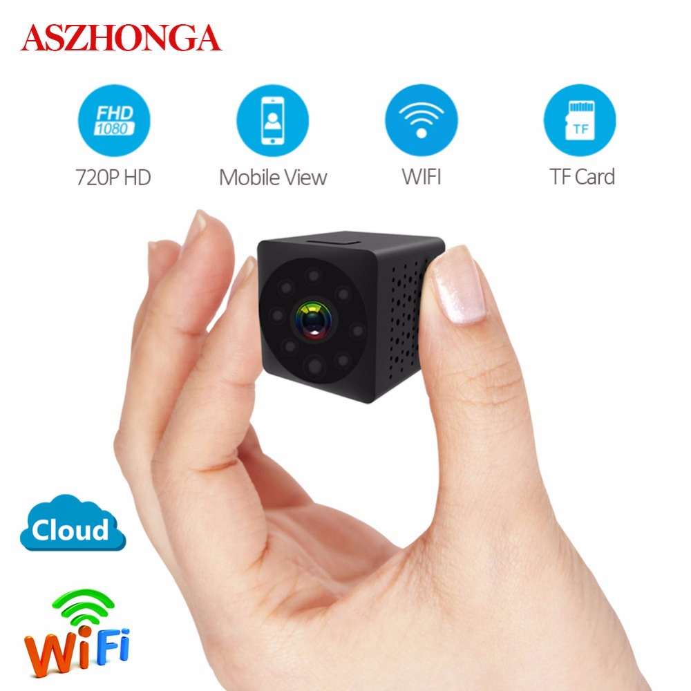 720P HD Video Monitor Wireless Mini WIFI No Light Night Vision Smart Home Security IP Camera Monitor Sound Motion Detection Cam jinage ip camera 720p wifi mini camera wireless infrared night vision cctv camera hd smart home security video motion detection