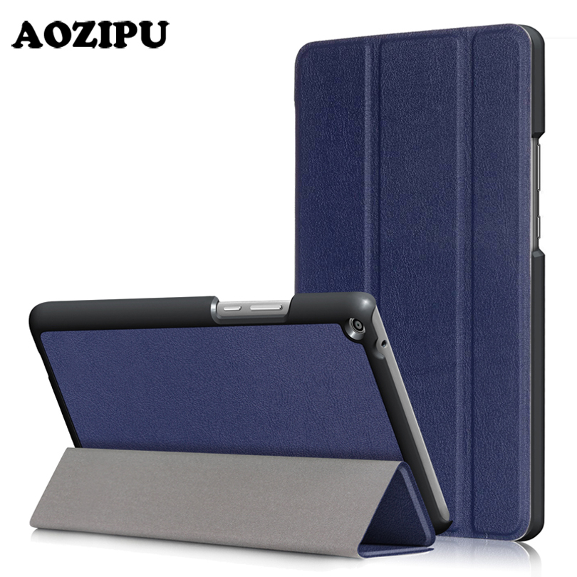 Ultra Slim Case for HUAWEI MediaPad T3 10 0 9 6 AOZIPU Trifold PU Leather Light