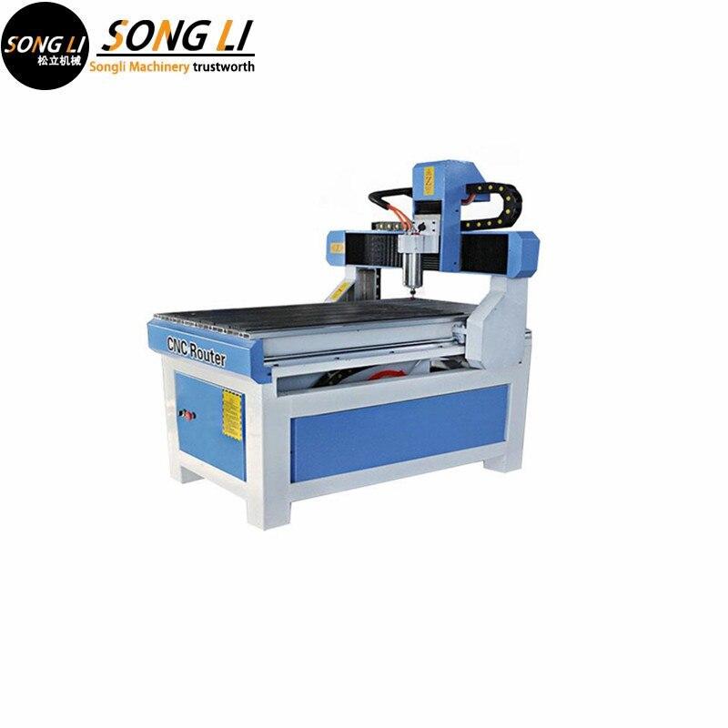 Songli 6090 2.2kw 3 axes lumière pierre machine avion gravure haute précision CNC machine de gravure outil de gravure