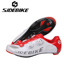 SIDEBIKE Cycling Shoes man 2018 Carbon Sole Men sneakers Women Road Bike Bicycle Racing Athletic Shoes zapatillas de ciclismo