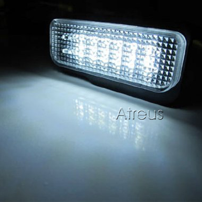 Atreus Mobil LED Lampu Plat Untuk Mercedes W211 W203 5D W219 R171 - Lampu mobil - Foto 5