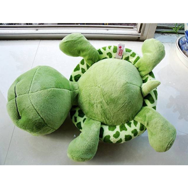 2018 New arriving 20cm Army Green Big Eyes Turtle Plush Toy Turtle Doll Turtle Kids As Birthday Christmas Gift Free shipping 3