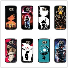 Dragon Ball z Black soft silicone TPU Phone Case For Samsung Galaxy S7 EDG S8 S9 Plus NOTE 8 9