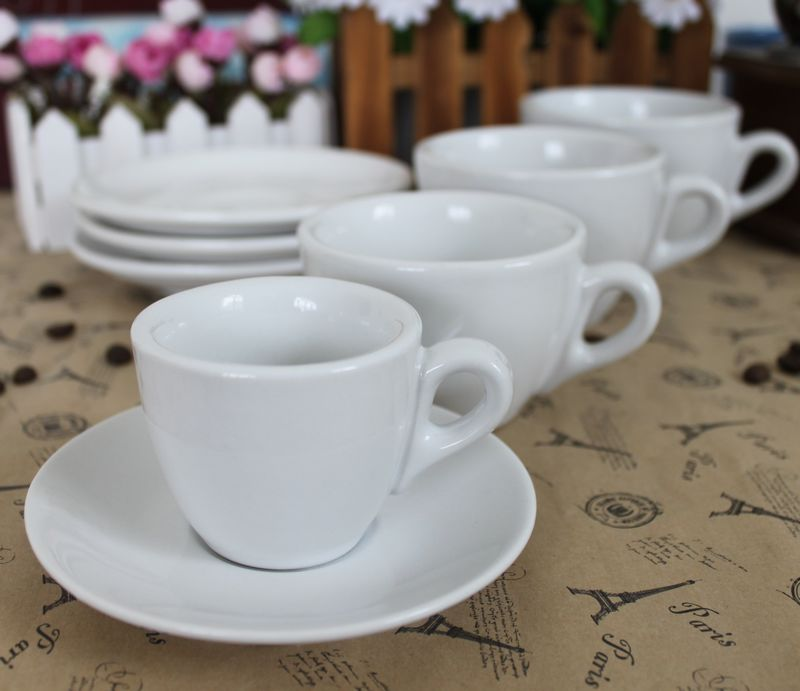 WeCollection Ceramic coffee cup set espresso saucer