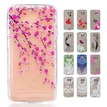 For Huawei Y3 II phone case cartoon girl red dress flower butterfly wolf soft skin back shell for Y3-2nd smartphone cover,new