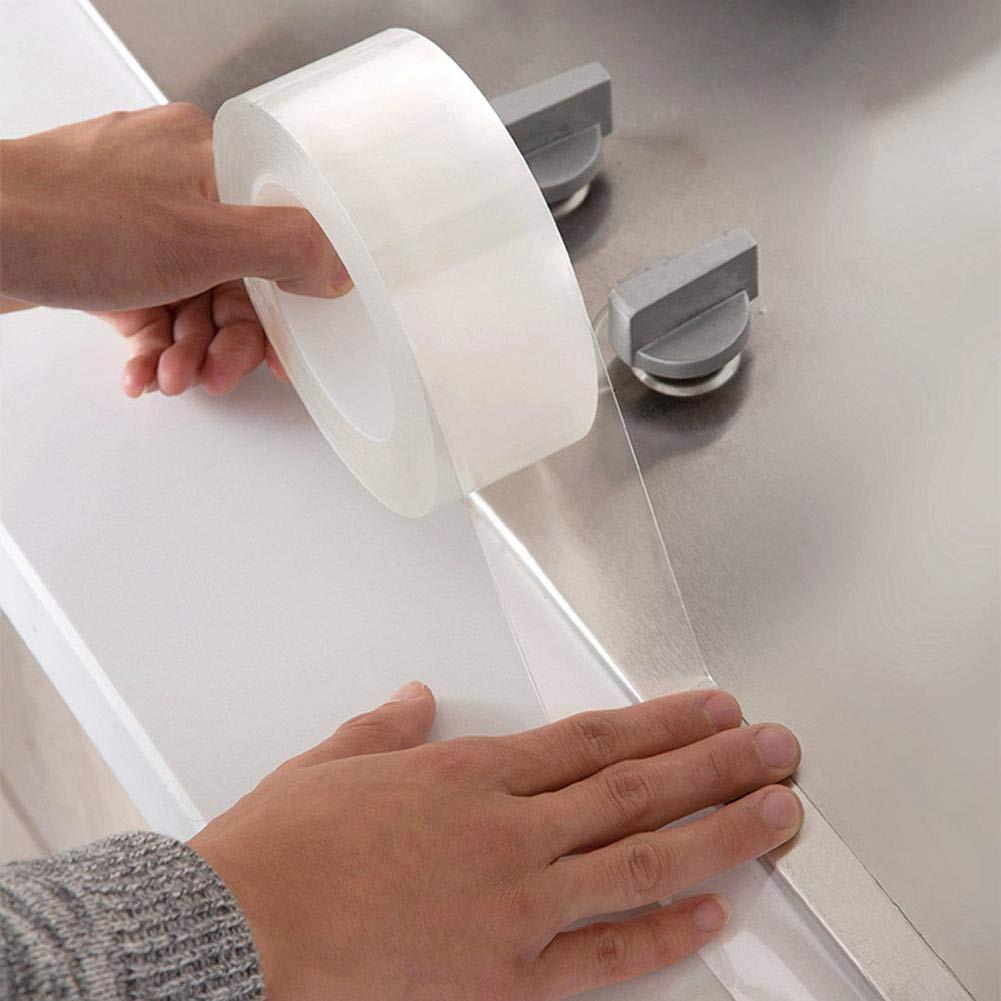 Waterproof Kitchen Bathroom Wall Sealing Tape Gap  Mold Proof Tape Transparent