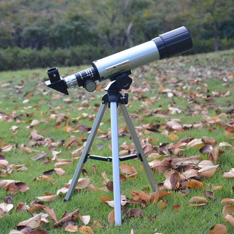Refractive Miniature Astronomical Telescope Monocular  Binoculars Landscape Lens Entry outdoors professional Spotting Scopes entry level 3 inches 76 700mm reflector newtonian astronomical telescope black white