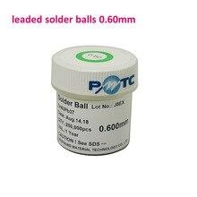 1 Bottles 0.6mm 250K PMTC BGA Leaded Solder Balls for BGA Reballing Repair Rework SGS Sn63 Pb37