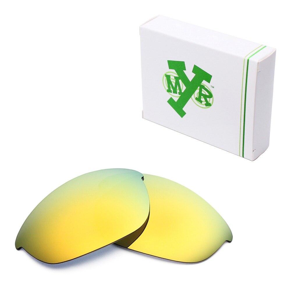 76e8ed746914 Mryok polarizado Objetivos para Oakley HALF JACKET Gafas de sol 24 K oro