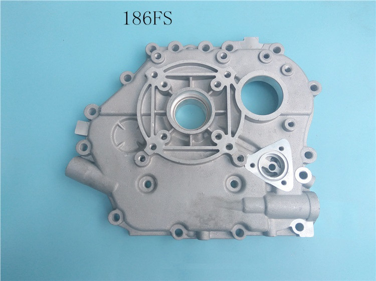 Fast Shipping diesel engine 186FS Crankshaft case cover air cooled Crankshaft box suit for kipor kama and Chinese brand fast ship diesel engine 170f generator or tiller cultivators a full set of electric starting suit for kipor kama chinese brand