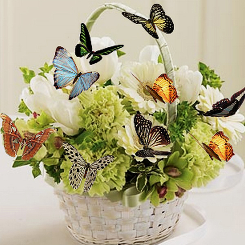 naiyue a basket of flowers diamond painting cross stitch flowers and