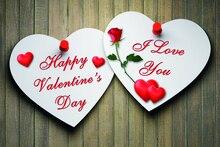 Laeacco Счастливый День святого Валентина фотографии фоны Сердце деревянная доска сцены Детские фотографические фоны для фотостудии