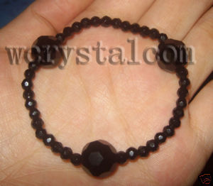 Black Onyx Crystal Faceted...