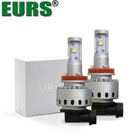 EURS TM 7S H4 H7 CSP Led Car Headlight Automobile LED Bulb XHP50 80W 8000LM H1