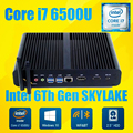 [6Gen Core i7 6500U 6600U] Intel HD Graphics 520 Mini Computador Skylake PC Windows 10 Gigabit Lan Wifi HDMI & DP 4 K Exibição HTPC