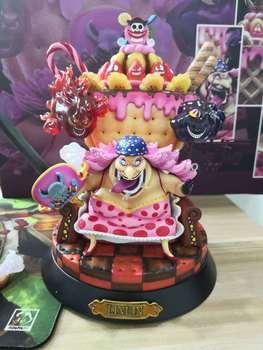 Anime One Piece GK Charlotte Linlin Big Mom Figure Model Toys 23m