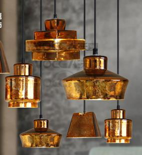 Bar antique Single Glass Pendant Lights E27 coffee shop rustic lamp Abajur vintage Pendant Lamp glass loft Industrial Light html5 media page 1