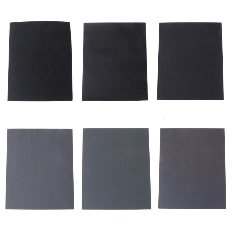 100/240/400/600/1000/2000 28x23cm Grit Aluminium Sanding Paper Oxide Wet Dry Abrasive Metal Wood Abrasive Tools W315