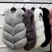 Женское пальто из искусственного меха весна осень зима пальто женское приталенное пальто меховой жилет женская меховая куртка меховой жилет женские сексуальные жилеты K1113