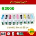 Подходит для Epson R3000  9 видов цветов многоразовые картриджи для серии T1571-T1579. С дуговой стружкой  пустой