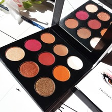 FLOSSY SUNFLOWER 9 Color Makeup Cosmetic Eye Shadow Palette Eyeshadow Glitter Natural Shimmer Matte Eyeshadow Pallete Maquiagem все цены