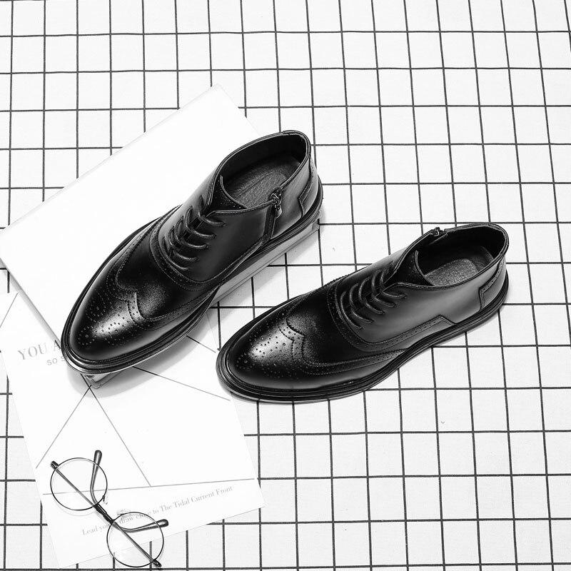 Dos Moda Designer Black Quente Homens Couro Venda De Mxz8309148 Marca Mens Botas Do Inverno wAzI8qng