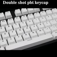 Double shot PBT keycap 108 key ANSI layout OEM Profile Black font Keycaps For Mechanical Gaming Keyboard MX Switches|Keyboards| |  -