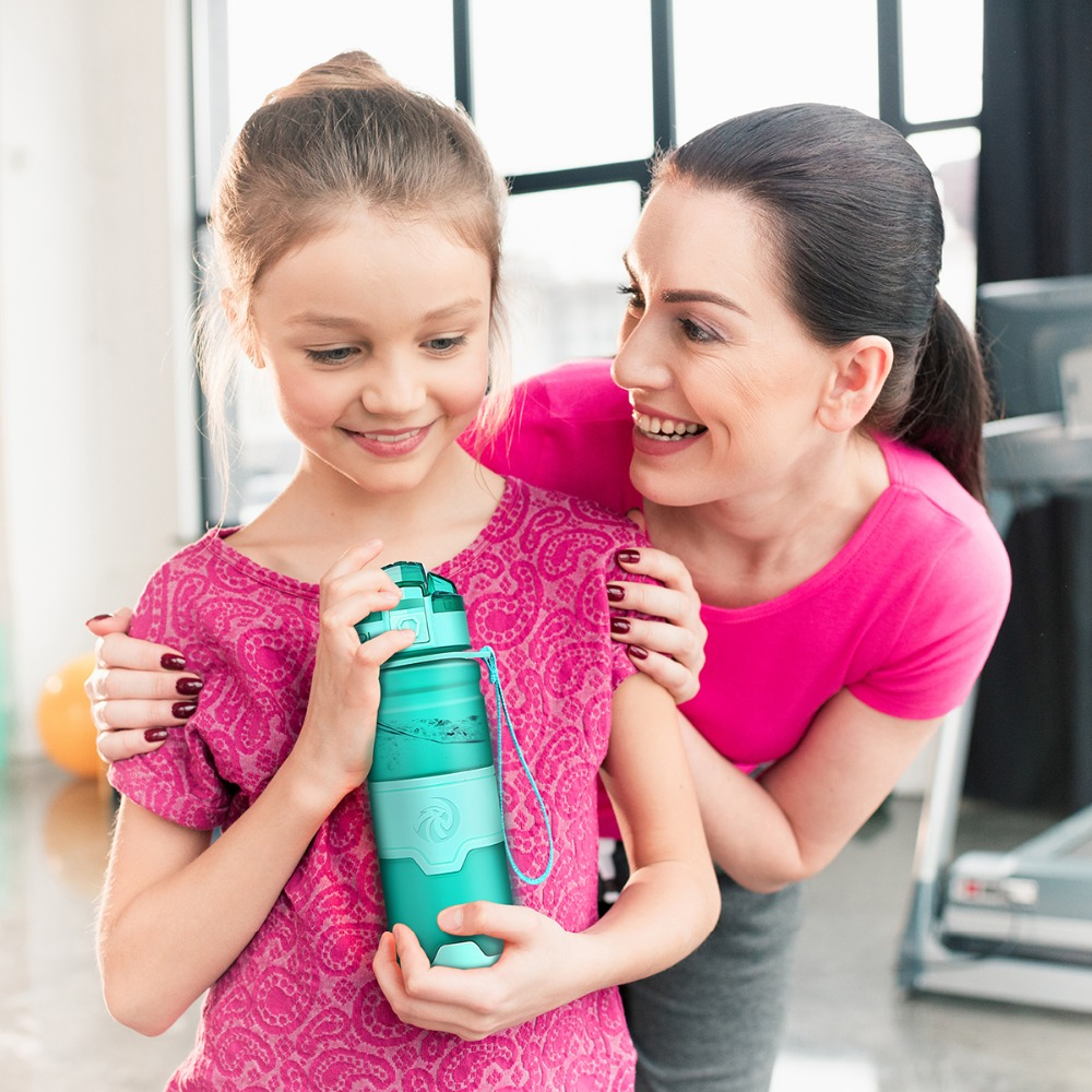 ZORRI Lightweight Bottle for Water BPA-free Tritan Flask бутылка для воды 500ml/1000ml CE / EU Drinkware shaker botella de agua