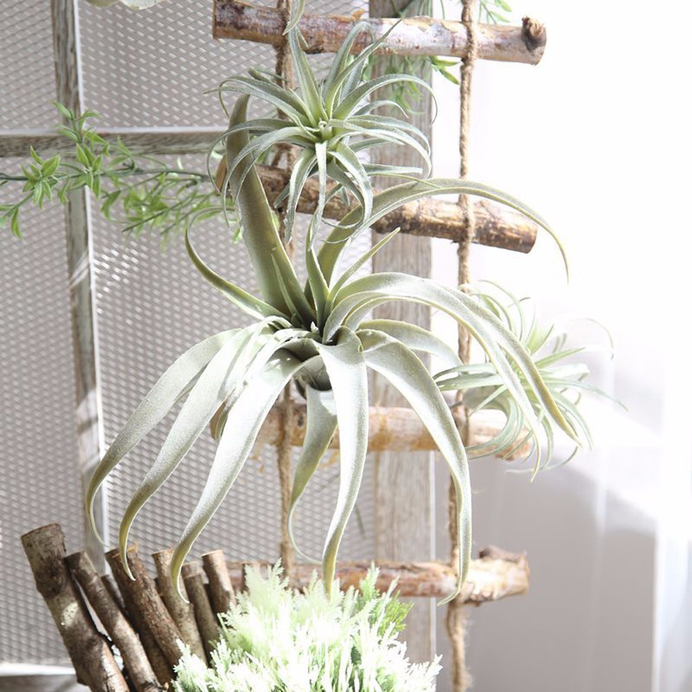 New Artificial Pineapple Grass Air Plants Fake Flowers As Home Wall Decoration For Home Garden Party Decor