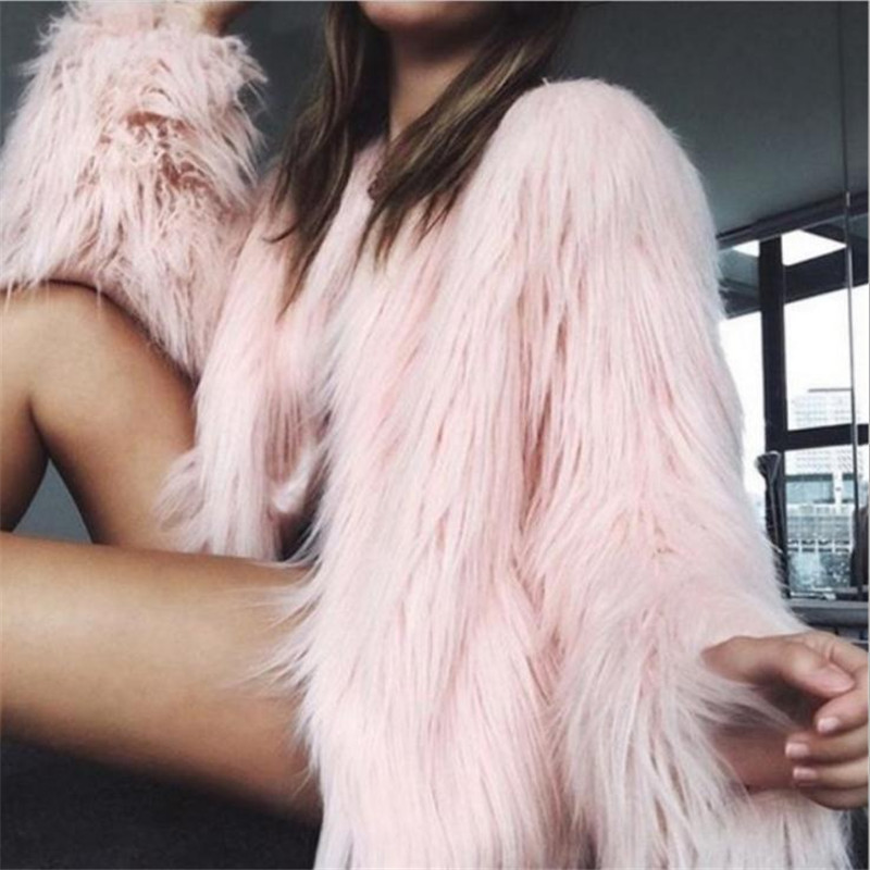 Faux Fur Useful Autumn And Winter Jacket Explosion Models Anti-leather Vest Vest Ladies In The Long Paragraph Vest Imitation Fur Coat 201848