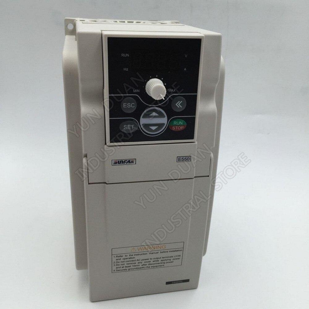 Convertisseur de fréquence universel VFD de 1.5KW 1500 W 220 V 1000Hz SUNFAR VVV/F SVC pour le contrôleur de ventilateur d'air de broche de gravure de routeur