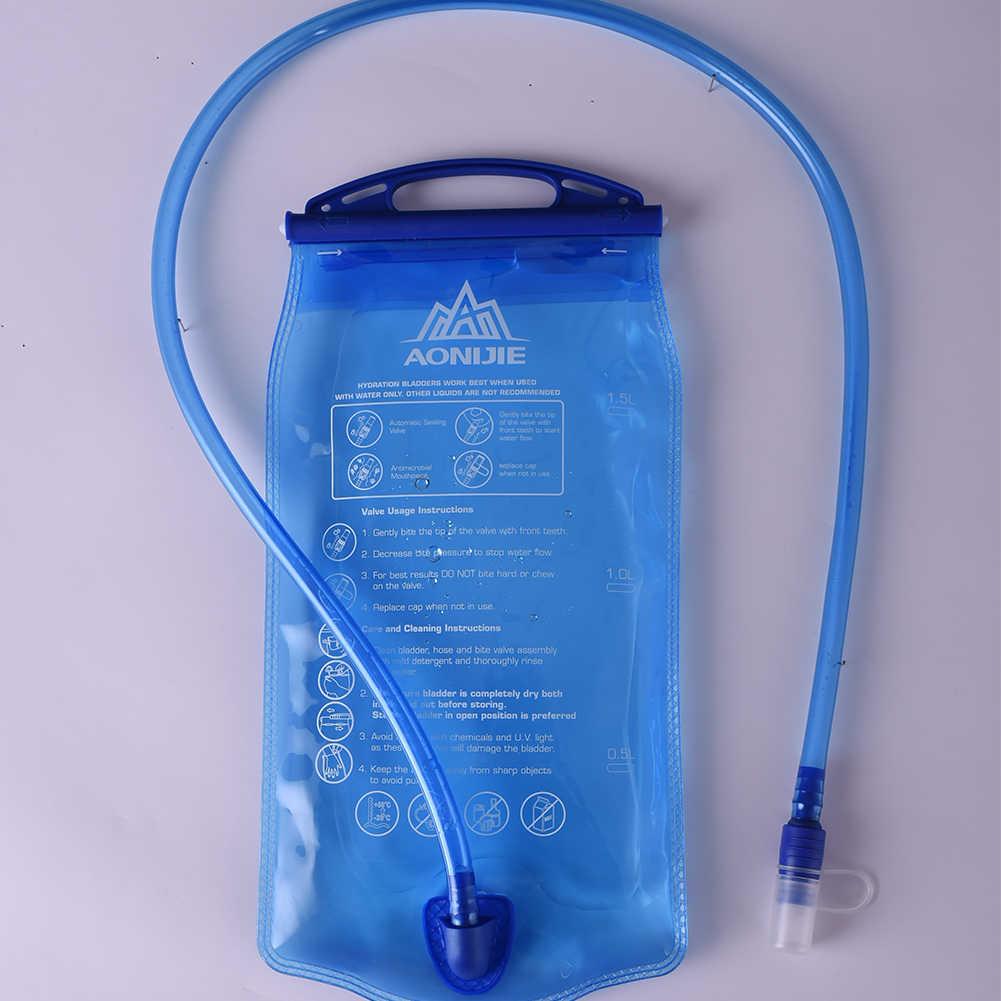 AONIJIE SD12 воды резервуар воды мочевого пузыря гидратации пакет для хранения BPA бесплатно-1L 1.5L 2L 3L бег гидратации жилет рюкзак