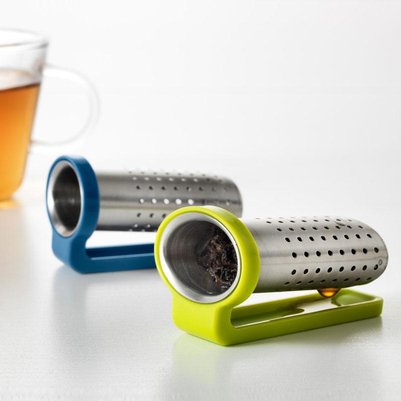 Tea-Infuser Tea Strainer COFFEE-FILTERS Reusable-Basket Stainless-Steel Mesh Loose