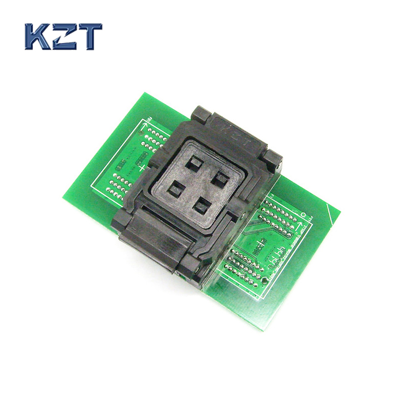 BGA132/BGA152 Test Socket to DIP96 adapter for SSD 8CE test ClamShell socket BGA152 Flash Memory Burn In Test IC Size optional tms320f28335zjza tms320f28335 bga
