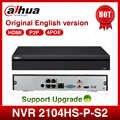 Dahua POE NVR NVR2104HS-P-S2 4CH Netzwerk Video Recorder Full HD 1080P Recorder Mit 1SATA 2USB Interface