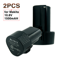 2PCS LOT Replacement Rechargeable Power Tools BATTERY FOR MAKITA 10 8V 1 5Ah Li Ion BL1013