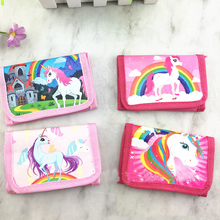 12Pcs Unicorn Mini Purses Money Bag Coin Pouch Children Purse Small Wallet For Kids Party Supplies