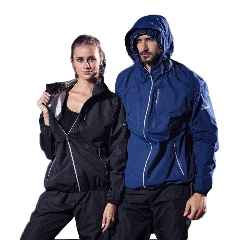 Jogging costumes pour femmes et hommes sweat à capuche de sport survêtement fitness vêtements de course Fietness lâche 2 pièces ensemble amoureux ensemble