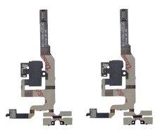 Noir/Blanc D'origine Top Qualité Audio Jack Volume Mute Bouton Switch Silencieux Câble Flex pour iPhone 4S