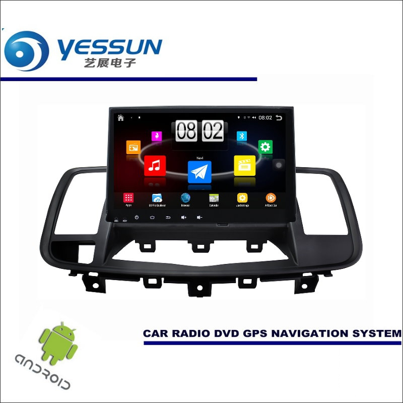 YESSUN Car Android Player Multimedia For Nissan Teana / Maxima 2008~2013 - Radio Stereo GPS Nav Navi ( no CD DVD ) 9 HD Screen