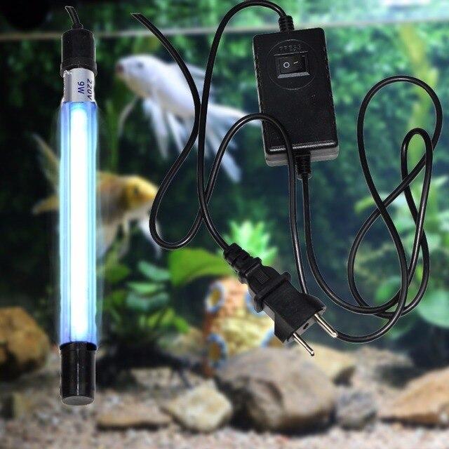 Submersible Quartz Uv Aquariums Sterilizer Clarifier Lamp