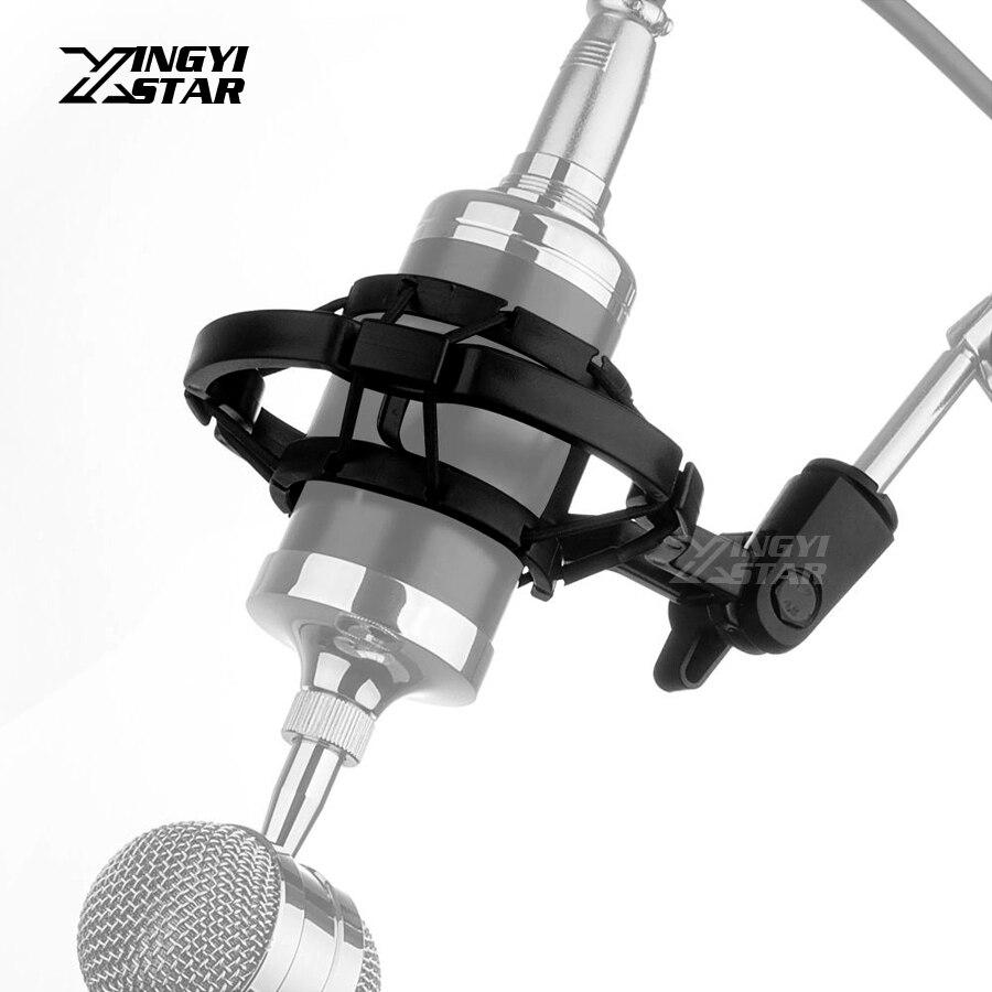 2019 Neuer Stil Pc Studio Aufnahme Kondensatormikrofon Shock Mount Shockmount Mic Holder Clip Clamp Desktop-ständer Suspension Spinne Bm 800 700 SorgfäLtige FäRbeprozesse Mikrofonstativ Heimelektronik Zubehör