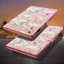 LUCKBUY For Apple iPad 2 3 4 3D Printed Butterfly OWL Unicorn Effiel Cute Bear Silicone Cover iPad2 iPad3 iPad4 Fundas Coque